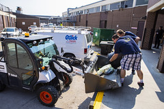 RRC_Sustainability_July 2018-048 (RedRiverCollege) Tags: rrc redrivercollege notredamecampus ndc sustainability electriccar compost bike