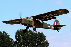 TW536 AUSTER TAKING OFF BREIGHTON (toowoomba surfer) Tags: auster aviation aeroplane aircraft