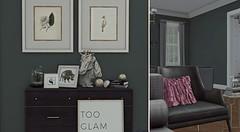 Grandeur Decor - Client: Dreem Killin - Living Space (Jack Hanby - LTD Magazine stylist) Tags: decor second life fashion pink colour cottage slat apple pouf leather client you me love passion decorating grandeur