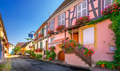 Eguisheim, France - 1 (Dhina A) Tags: sony a7rii ilce7rm2 a7r2 a7r variotessar t fe 1635mm f4 za oss sonyfe1635mmf4 sel1635z tour holiday trip village favorite french magical medieval beautiful france eguisheim alsace architecture