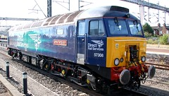 57308 James Fergusson (kitmasterbloke) Tags: drs ukclass57 57308 rugby locomotive diesel brushtraction