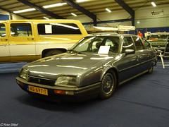 1987 Citroën CX 22 TRS (peterolthof) Tags: oldtimerbeurs leek peterolthof ns697t
