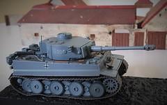 German 1943 VI Tiger Tank (standhisround) Tags: tank army armoured german tigertank model scalemodel deagostini 1943 panzerkampfwagen 172