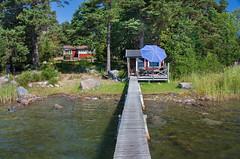IMG_4528-1 (Andre56154) Tags: schweden sweden sverige wasser water ufer steg bridge haus house urlaub holiday