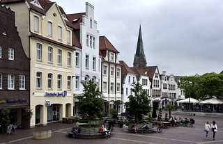 Am Marktplatz in Lingen; Emsland (4)