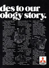 1983 Mitsubishi Starion Scorpion Cordia Page 2 Aussie Original Magazine Advertisement (Darren Marlow) Tags: 1 3 8 9 19 83 1983 m mitsubishi c cordia s scorpion starion t turbo car cool collectible collectors classic a automobile v vehicle j jap japan japanese asian 80s