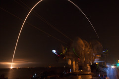 Delta IV Heavy Launch with Parker Solar Probe 8/12/2018 (stargazerpearce) Tags: capecanaveralairforcestation ccafs rocket nasa kennedyspacecenter ksc 45thspacewing cape canaveral night sky people ulalaunch ula parkersolarprobe deltaivheavy