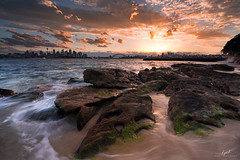 Sydney winter sunset (FPL_2015) Tags: sydney nsw australia landscape sunset ocean seascape cityscape sony163528gm sonya7riii
