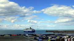 18 08 10 Oscar Wilde departing Rossalre  (4) (pghcork) Tags: oscarwilde rosslare ferry ferries carferry irishferries ireland wexford