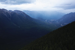 Mood (photographybyjoss) Tags: mood dark mountains mountainsandmist canoneos5dmarkiii canada banffnationalpark alberta banff national park landscape forest trees mountainside kanada north america mountain