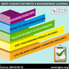 Best 4 ideas for write a journal of engineering (padmapriyaseo18) Tags: international journal publishing