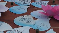 decorations_260italy (Manohar_Auroville) Tags: auroville sri aurobindo gathering amphitheatre matrimandir bonfire dawnfire birthday manohar luigi fedele