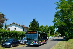 Saint-Paul-lès-Dax - Mercedes-Benz Citaro K - 12/08/18 (Jérémy P.) Tags: citaroc2 c2 citaro mercedesbenz couralin translandes rdtl granddax landes dax saintpaullèsdax
