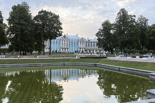 Catherine palace. Reflection.