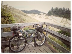 Just rode the 20 miles from Florence to Reedsport through Oregon Dunes country. It's not my favorite stretch of US 101 riding, as the route stays inland. Plus this area caters to the RV and ATV crowd. Still, there are moments of beauty. #shawnandemeeorcoa (urbanadventureleaguepdx) Tags: biketouring biketour shawnandemeeorcoasttouraug2018