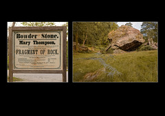 Bowder Stone, Diptych (S.R.Murphy) Tags: bowderstone rock diptych lake district cumbria england greatbritain unitedkingdom geology history heritage sign text fujifilmxt2 fujifilmxf1855mm lightroomcc stuartmurphy grass