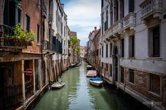 Venice Canal (Michał Banach) Tags: canonef1635mmf4lisusm canoneos5dmarkiv italy venice wenecja architecture building buildings canal trip venezia veneto it