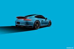 Porsche Carrera 4 GTS Miami Blue (Richard.Le) Tags: porsche carrera 4 gts miami blue richard le automotive photography commercial studio german motor engineering profoto b1x sony a7rii lighting westcott ice light 2 hashtag hash tag explore follow animation graphic art photoshop flickr