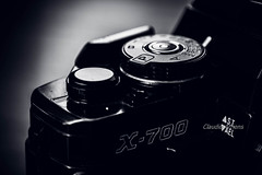Details (Claudio Arriens) Tags: minoltax700 minolta bw pb details detalhes camera filme film 35mm vintage