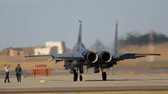 LAST CHECK BEFORE FLIGHT (MANX NORTON) Tags: f22 raptor f35 lightning f15 eagle f16 falcon raf lakenheath usaf