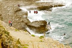 Coaststeering at Dancing Ledge (cjt8834) Tags: coasteering dancing ledge dorset south west coastal path