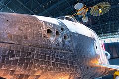 DSCF0301_2_3_HDR (thedoc31) Tags: udvarhazy washingtondc dc udvar spaceshuttle space shuttle discovery sr71blackbird sr71 blackbird aircraft airplane