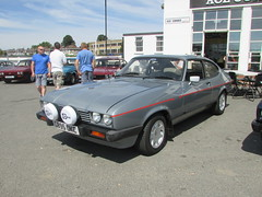 Ford Capri 2.8 Injection Special C895OKC (Andrew 2.8i) Tags: sports sportscar acecafe london capri ford coupe hatch hatchback mark 3 iii mk mk3 german 2800 v6 cologne 28 special injection
