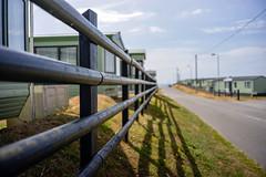 Fence (Howie Mudge LRPS BPE1*) Tags: fence shadows leadinglines tywyn gwynedd wales cymru uk sony sonya7ii sonyilce7m2 sonyalpha sonyalphagang 7artisans35mmf2 sonylove flickrtravelaward
