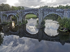 Puente medieval de Pontevea, Teo (A Coruña) / A Estrada (Pontevedra) (Miguelanxo57) Tags: puente río ríoulla medieval teo aestrada galicia