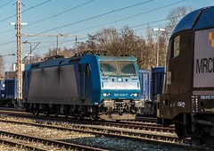 02_2018_03_14_Wanne_Eickel_Üwf_6185_528_TXLA (ruhrpott.sprinter) Tags: ruhrpott sprinter deutschland germany allmangne nrw ruhrgebiet gelsenkirchen lokomotive locomotives eisenbahn railroad rail zug train reisezug passenger güter cargo freight fret herne wanne eickel wanneeickel üwf eloc txla vectron siemens 6182 6185 6193 es 64 u2 es64u2 mrcedispo mrcedispolok mrce dispo stellwerk stellwerküwf txl txlogistik outdoor logo natur werbung