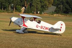 ShuttleworthFamilyAirshow2018-904 (mcaviationphoto) Tags: oldwardenaerodrome theshuttleworthcollection shuttleworthfamilyairshow gbzwv pfa06410751 steenskybolt steen steenaerolabinc biplane aerobatic
