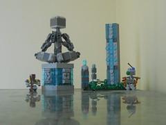 The Path to God (ToaTimeLord) Tags: moc system afol lego robot landscape