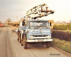 TK/KM ? (pyewacket947) Tags: transport truck bedford kmtk adf concrete pumping tunnelbank bourne lincs adfconcretepumping wed291s