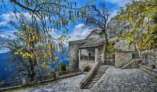 Ιερά Μονή Παναγίας Πελεκητής Καρίτσα Λίμνη Πλαστήρα Holy Monastery of Panagia Pelekiti(hewed) Karitsa Lake Plastira