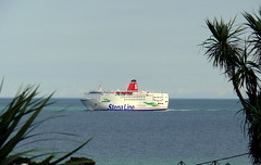 18 08 10 Stena Europe arriving Rosslare (1) (pghcork) Tags: stenaline ferry ferries carferry stenaeurope ireland wexford rosslare ships shipping