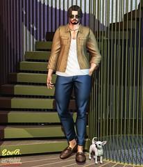 . EohB . #Catwa #Straydog #Burley #Purfect #Etham #Galvanized #Versov (Crayolas Clothes) Tags: catwa straydog burley purfect etham galvanized versov men man male mate buddy stud thick gay guy boy formal jacket pants shoes grail 2018 avatar secondlife secondlifefashion