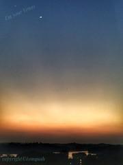 I'm your Venus (tomquah) Tags: moon venus sky bluehour singaporelandscape huaweimate9 tomquah planets