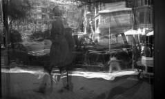 Distortion (4foot2) Tags: streetphoto streetshot street streetphotography candid candidportrate reportagephotography reportage people peoplewatching interestingpeople reflection distortion glass window shopwindow sansebastián donostia basquecountry spain analogue film filmphotography 35mm 35mmfilm 35mmf35 35mmf35summaron summaron leica rangefinder 1932 1932leica leica111 shootfromtheknee zonefocus guess rolleiretro rolleiretro400s 400s rodinal standdevelop 2018 fourfoottwo 4foot2 4foot2flickr 4foot2photostream
