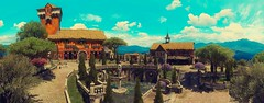 """""""View over Dun Tynne Castle."""" (Xenolith3D) Tags: witcher 3 wild hunt screenshot panorama nvidia ansel virtualphotography duntynnecastle toussaint cd projekt red redengine"""