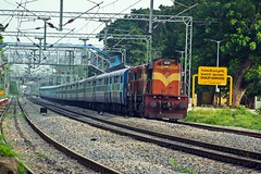 NSL - HYB Special (B V Ashok) Tags: nagarsolhyderabad nslhyd 07063 special scr cvb cavalrybarracks express gtl guntakal wdm3d 11567 alco