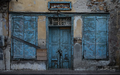 Aged New Democracy (PvRFotografie) Tags: greece griekenland lesbos lesvos perama building gebouw urbex vervallen verwaarloosd verlaten abandoned decayed olympustg5