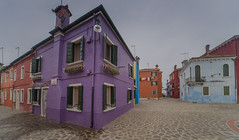 Purple corner (y.mihov, Big Thanks for more than a million views) Tags: purple corner burano venezia italy village venice islands isle historical holiday trespass travel tourist town sonyalpha sightseeing sigma skyes sea stone street sony winter wide house buildings urban europe europa midday