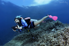 C A L M [Explored] (Randi Ang) Tags: parigi moutong parigimoutong central sulawesi tengah sulteng indonesia underwater scuba diving dive photography wide angle randi ang canon eos 6d fisheye 15mm randiang wideangle diver