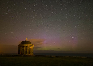 Aurora at the Mussenden Temple