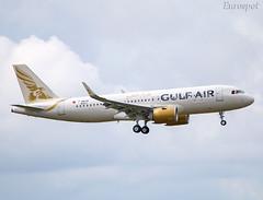 F-WWBB Airbus A320 Neo Gulf Air (@Eurospot) Tags: fwwbb a9cta airbus a320 a320neo gulfair toulouse blagnac
