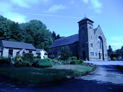 (Chris Hester) Tags: 11447 sowerby bridge church heart st patricks upper bolton brow sacred jesus statue flowers