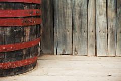 Old Barrel on Porch (dejankrsmanovic) Tags: barrel wood wooden old vintage retro beverage drink oldfashioned decor decoration plank simple object stilllife background copyspace thing pattern concept floor archive stock weathered obsolete village countryside rural natural brown porch