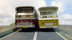 DAF DAF (ManOfYorkshire) Tags: daf bus buses lioncars holland netherlands dutch red yellow centrum route5 restored original collection scale model 150 enhabo amsterdam diecast unrestored refurbushed