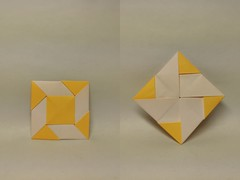 Windmill Base by 陶清根Tao Qinggen (Zephyr Liu) Tags: origami paper kami base windmill cp 陶清根 tao qinggen