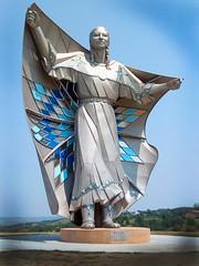 dignity (ddotcom12) Tags: dignity statue indian southdakota woman power reststop